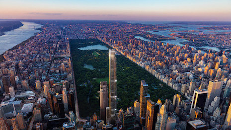 e00544470176 Central Park Tower will be home to 179 private units and Nordstrom s New  York debut. Image credit  Extell