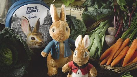Luxury daily peter rabbit has landed at harrods image credit harrods negle Choice Image