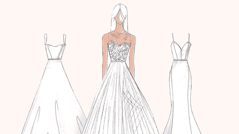 bbe812aadeb Amsale is offering brides more DTC options. Image credit  Amsale New York