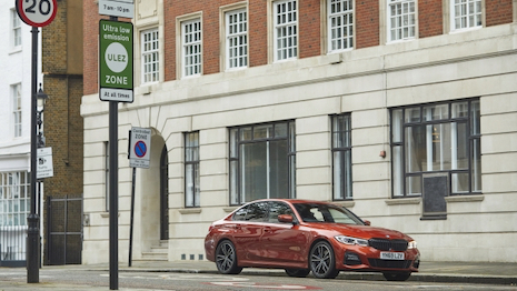 BMW launches world-first eDrive Zones technology in London and Birmingham